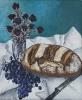 Brot, Rosen und Trauben